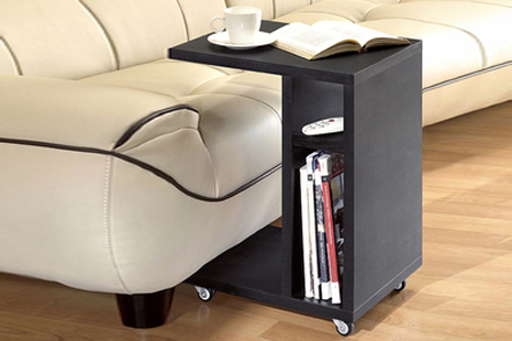 Caster end table