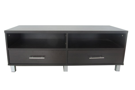 TWO DRAWER TV STAND