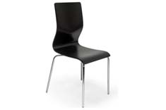 BLACK COLOR BENTWOOD DINING CHAIR